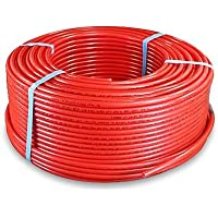 Pexflow PFR-R12300 Pex Tubing 1/2-Inch x 300-Feet Oxygen Barrier, Red by PEXFLOW