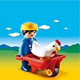Playmobil 6793 1.2.3 Farmer with Wheelbarrow