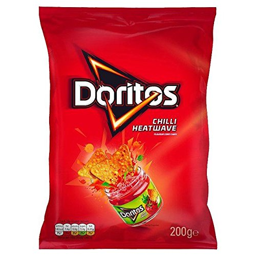 Doritos Chilli Heatwave 200g - Pack of 2 by Doritos