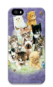 10 Kittens PC For SamSung Galaxy S4 Mini Case Cover 3D