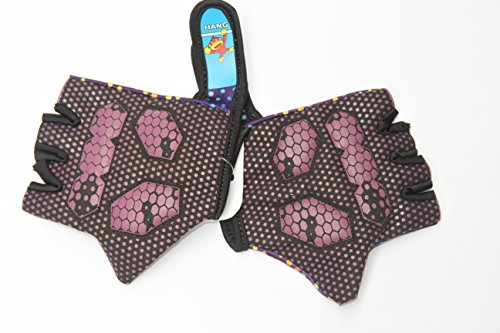 HANG Monkey Bars Gloves (For Children 9. 10, 11 Old) With Grip Control Finger less Kids bike cycling gloves by HANG (Image #1)