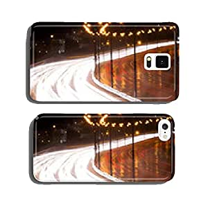 Highway at night cell phone cover case Samsung S5