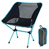 Ephram Lightweight Outdoor Portable Folding Camping Chair,Ultralight Heavy Duty Foldable Camp Chairs Ultra Fishing Hiking Picnic Barbecue Lawn Touring Travelling Backpacking Outdoor Chair Sports Backpack Chairs Lounger Chair Beach Seat Comfortable for Indoor And Outdoor Activities