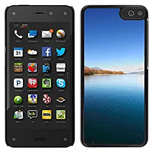 "For Amazon Fire Phone 4.7 , S-type Naturaleza Hermosa Forrest Verde 91"" - Arte & diseño plástico duro Fundas Cover Cubre Hard Case Cover"
