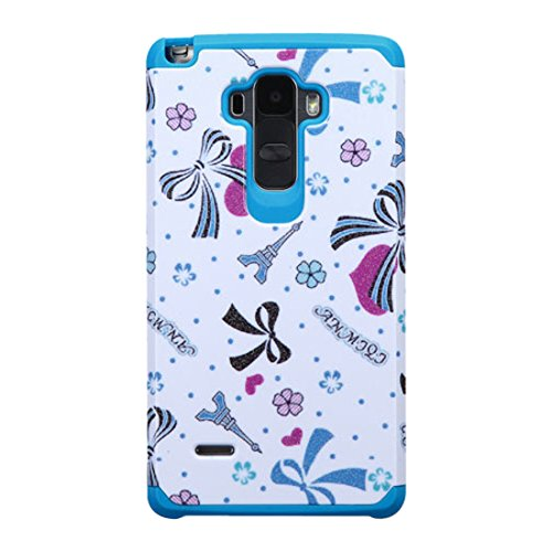 Asmyna Phone Case for LG LS770 (G Stylo) - Retail Packaging - Blue