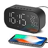 Best Bluetooth Alarm Clocks - Aidina Alarm Clock Radio with Bluetooth Speaker, Digital Review