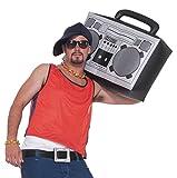 Forum-Novelties 80's Hip Hop Rapper Inflatable Boom Box Theme Party Accessory