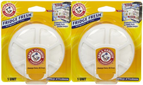 Price comparison product image Arm & Hammer Fridge Fresh Refrigerator Air Filter - 2 pk