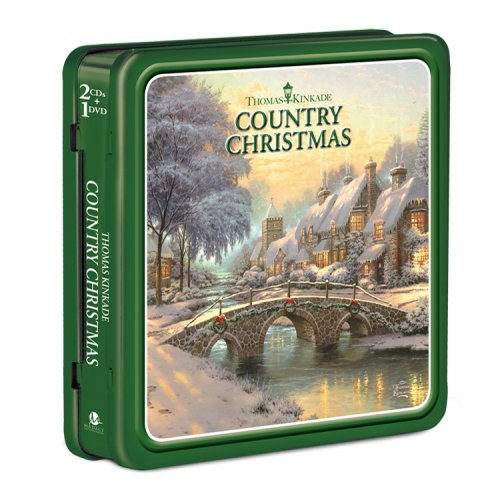 Excellent Thomas Kinkade: Country 4 years warranty Christmas