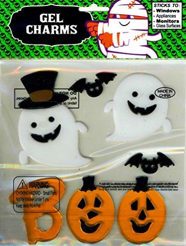 Nantucket Home BOO Jack-o-Lanterns Ghosts Bats Halloween Gel