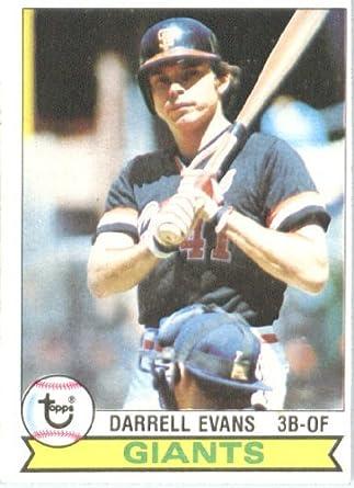 Amazoncom Darrell Evans San Francisco Giants Baseball Card 1979