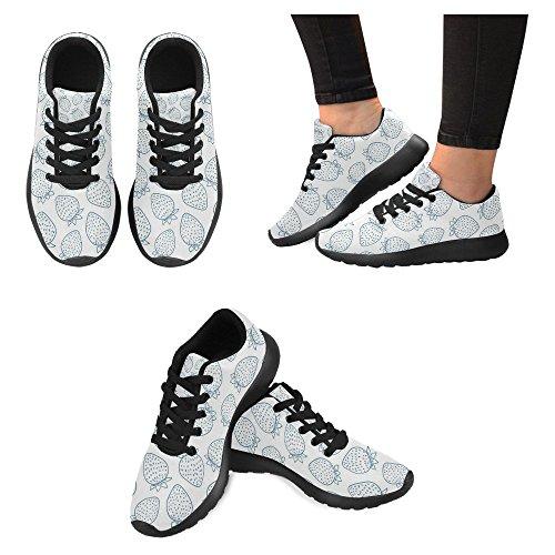 InterestPrint Womens Jogging Running Sneaker Lightweight Go Easy Walking Casual Comfort Sports Running Shoes Multi 6 ivb5C