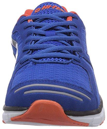 Hi-Tec Haraka - Zapatillas Hombre Azul (blue/red 032)