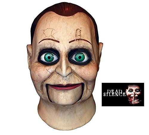 Trick or Treat Studios Men's Dead Silence-Billy Puppet Mask, Multi, One Size