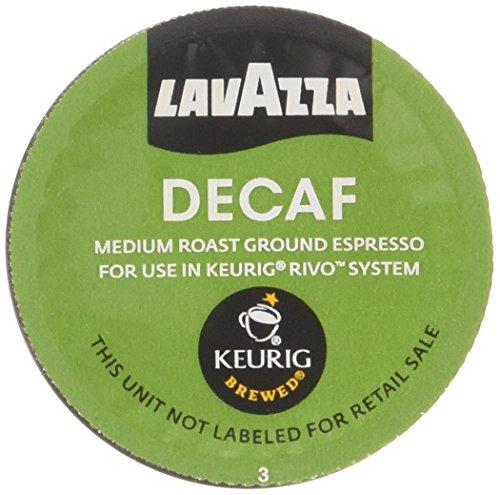Espresso System - Lavazza Decaf, Espresso Packs for Keurig Rivo Systems(4.76 oz)(Pack of 4)