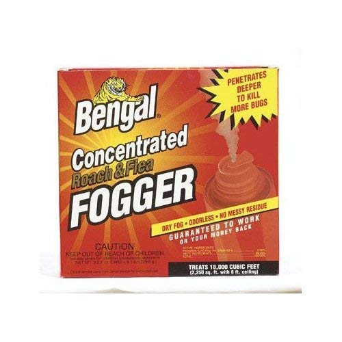 Enforcer Roach and Flea Indoor Insect Fogger