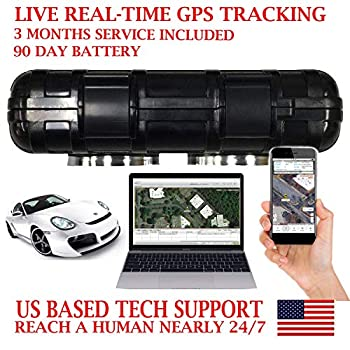 Image of AES RGT90B GPS Tracker GPRS Magnetic Vehicle Locator Tracking Device. PRE-Activated SIM Card with 3 Months Service Included!!! Waterproof Magnetic Case. Rechargeable 90 Day Battery