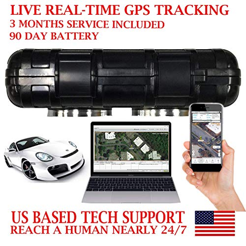 AES RGT90B GPS Tracker GPRS Magnetic Vehicle Locator Tracking Device. PRE-Activated SIM Card with 3 Months Service Included!!! Waterproof Magnetic Case. Rechargeable 90 Day Battery