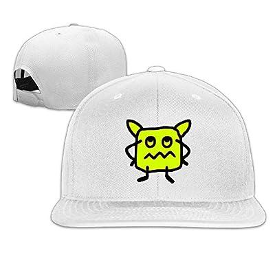 Professional Unisex Snapback Adjustable Truck Cap Sports Travel Hat Natural, Cute Beast - V2 Baseball Flat Hat
