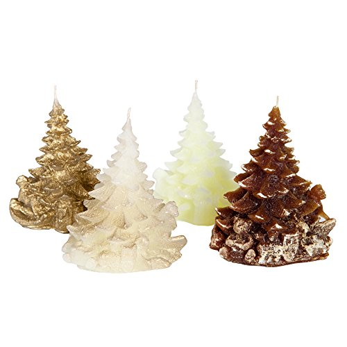 Candle Atelier 'Merry Christmas Trees' (Golden/Chocolate Theme) 4.7