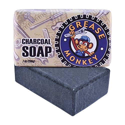 Price comparison product image Grease Monkey - Activated Charcoal Soap - Natural - 7 Ounce