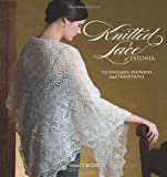 Front cover for the book Knitted Lace of Estonia: Techniques, Patterns, and Traditions by Nancy Bush