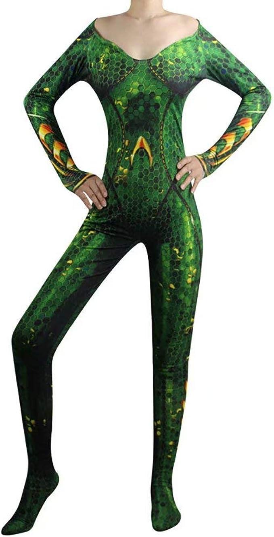 Red ROSEY Aquaman Mera Cosplay disfraz Cos disfraz reina ...