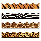 TREND enterprises, Inc. Animal Prints Terrific Trimmers, Variety Pack