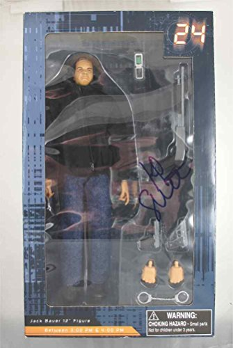Kiefer Sutherland '24' Signed Action Figure Certified Authentic PSA/DNA COA
