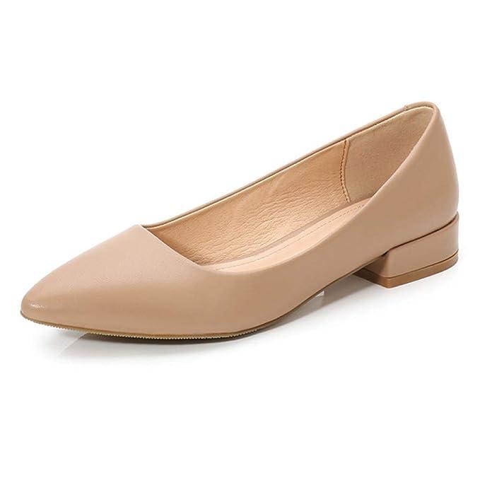 Zapatos Casuales De Trabajo Zapatos Planos Mocasines Bombas Zapatos Zapatos De Mujer Zapatos Cómodos De Ballet Zapatos Para Bailar Yoga Ejercicio: ...