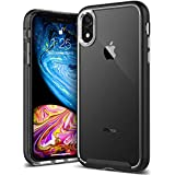 Caseology [Skyfall Series] iPhone XR Case - [Clear Back/Premium Finish] - Black