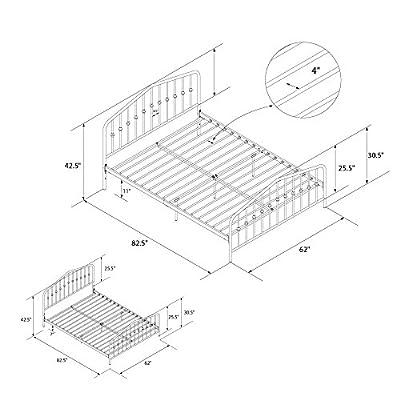 Novogratz Bushwick Bed