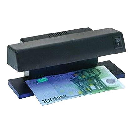 profirst MC 1 UV para billetes Tester Comprobador Dinero Banco Ordenador Detector – Detector de billetes