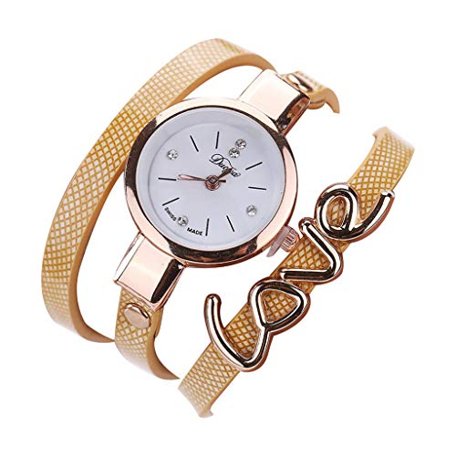 Bracelet Watches for Women,Londony❀ Fashion Analog Quartz Bangle Cuff Bracelet Wrist Watch, Unique Elegant Watch -