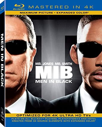 Amazon com: Men in Black (Mastered in 4K) (Blu-ray + UltraViolet