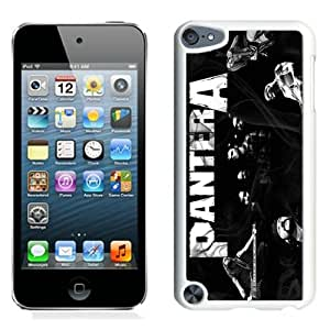 Hot Sale And Popular iPod Touch 5 Case Designed With Pantera 01 White iPod Touch 5 Phone Case