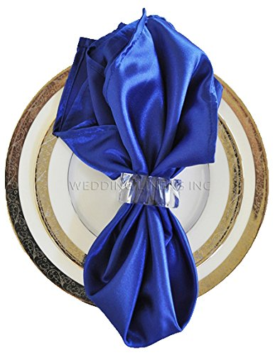 Wedding Linens Inc.. 10 pcs Satin 20