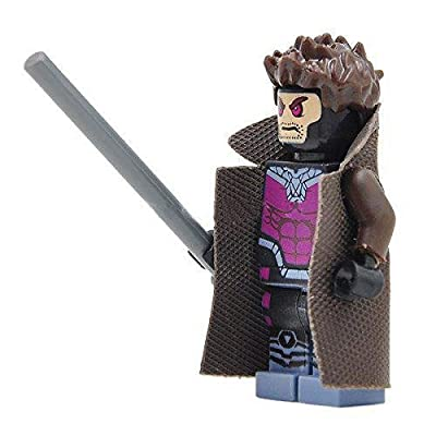 JekaTOYS Gambit X-men Minifigures Minifigs NEW 2016 TOYS Super Hero Building Block Brick Minifigure Super Hero LIMITED TIME OFFER!: Toys & Games