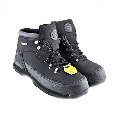 Groundwork Gr77 - Zapatos de Seguridad adultos, unisex NEGRO - GR77
