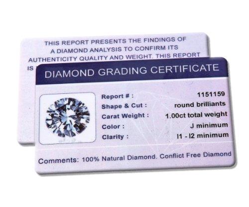 Revoni Collier avec pendentif diamant solitaire-18carats