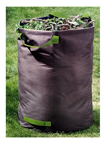 100 Liter Laubsack für Gartenabfälle, Polyester, reissfest bis 60 Kg, 60 x 50cm, Gartensack faltbar