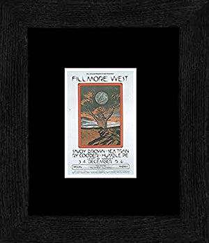 Savoy Brown Ry Cooder - Fillmore West Dec 1970 Framed and Mounted Print - 20x18cm