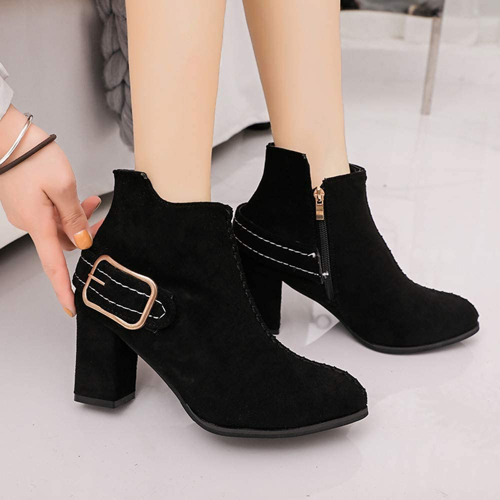 Boots LJSGB Pointed Suede...