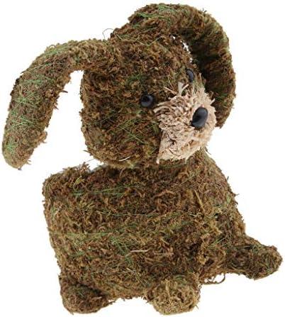 COMFORT INNOVATION Small Moss Rabbit - Grass Rabbit - Natural Rabbit - Decoration - Home Decor / COMFORT INNOVATION Small Moss Rabbit - Grass Rabbit - Natural Rabbit - Decoration - Home Decor