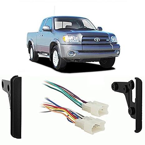 amazon com fits toyota tundra 2003 double din car stereo harness rh amazon com 2004 toyota tundra radio wiring harness 2005 toyota tundra radio wiring diagram