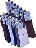 Hitashi Men's Socks - Pair of 12 (Multicolour)