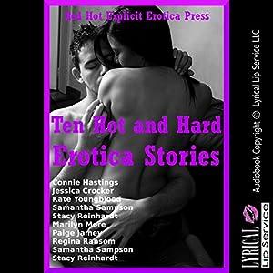 Ten Hot and Hard Erotica Stories Audiobook