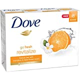 Dove go fresh Bars Revitalize, 8 pk, Mandarin & Tiare Flower, 4 oz