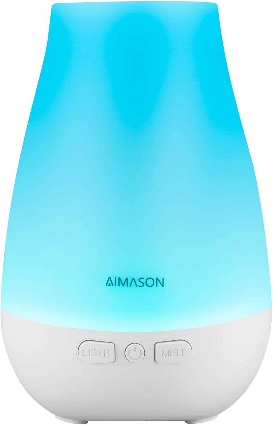 AIMASON 3rd Version 180ML Essential Oil Diffuser, BPA Free