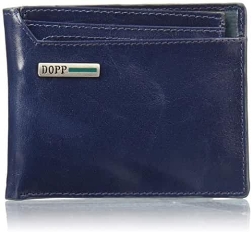 Dopp Men's Beta Rfid Blocking Leather I.d. Thinfold Wallet
